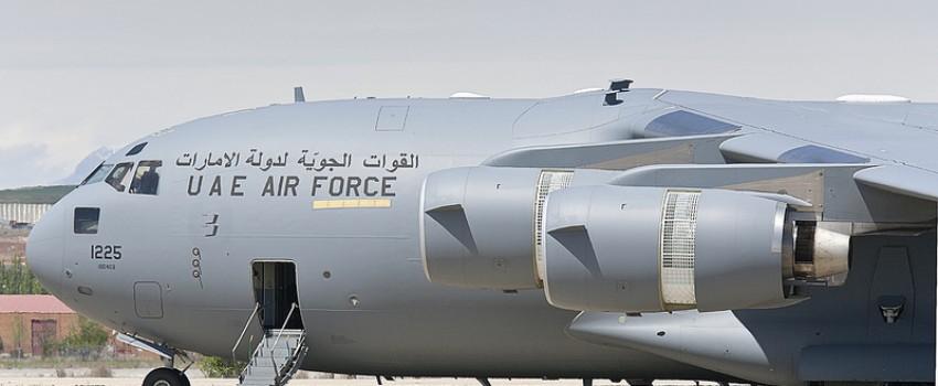 C-17 Ujedinjenih Arapskih Emirata posetio Beograd