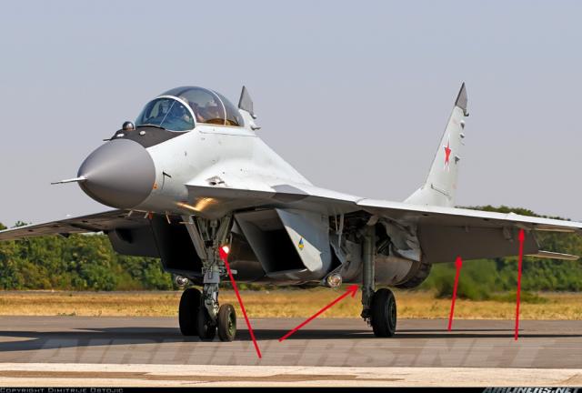 Detalji MiG-29K na M2 verziji