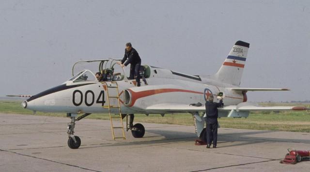 Prototip aviona G-4 23004, Foto arhiv TOC-a