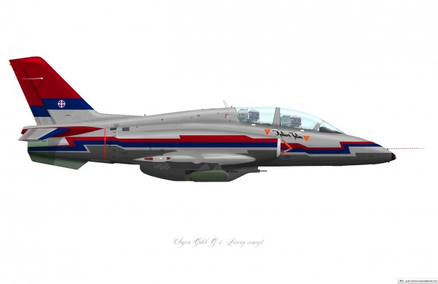 Super Galeb G-4 Livery concept3 (right)