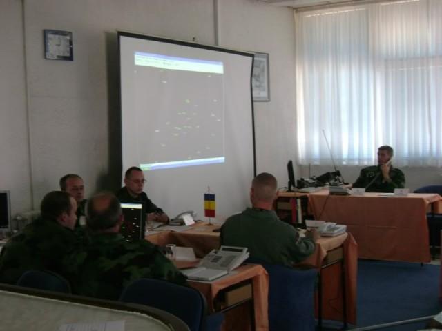 Komandni centar na jednoj od vežbi Air Solution, foto: Ministarstvo Odbrane