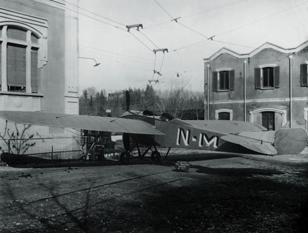 Prvi Macchi, 1913 godina