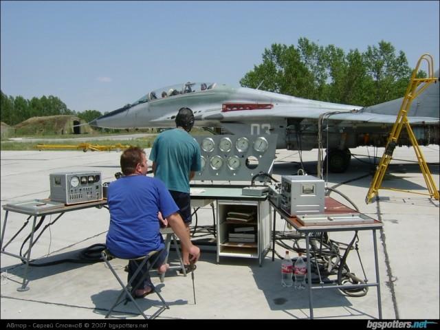 Bugarski MiG-29UB
