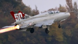 EKSKLUZIVNO: Specijalna šema MiG-a 21 povodom 50 godina službe