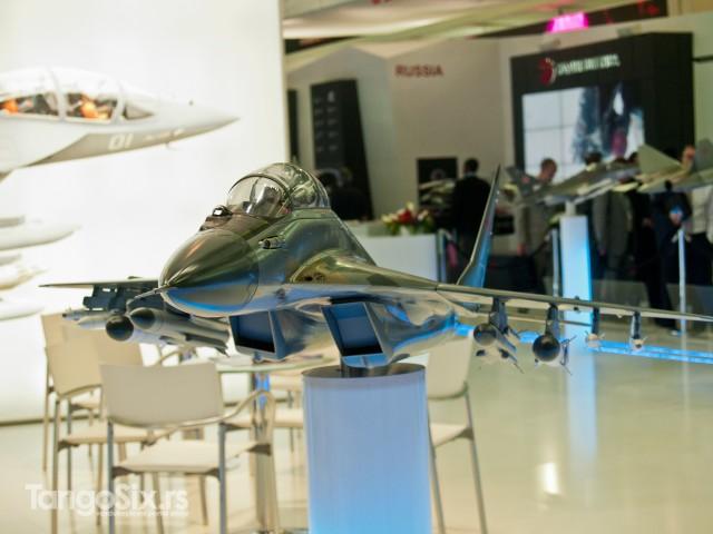 MiG je na ovogodišnji Burže došao sa simulatorom i maketama svojih letelica koje su trenutno u ponudi