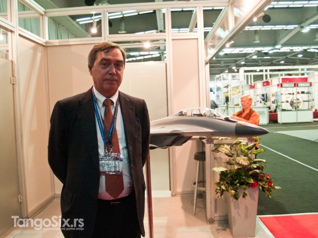 Vladimir Viprjažkin, savetnik generalnog direktora kompanije MiG za marketing i prodaju