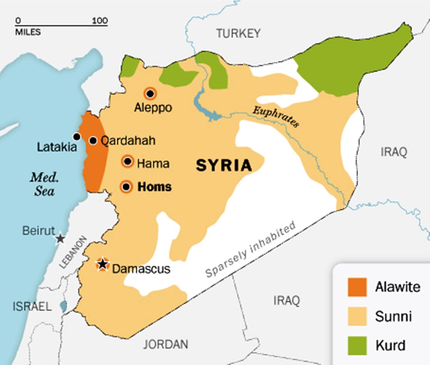 mapa sveta sirija Građanski rat u Siriji   pregled upotrebe vazduhoplovnih snaga  mapa sveta sirija
