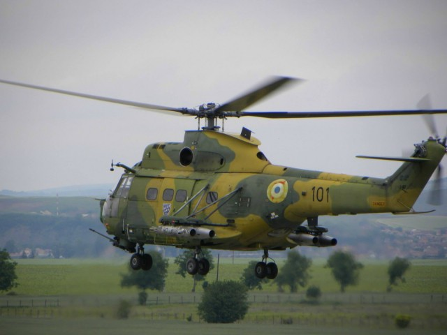 Rumunska Puma u akciji, Air Solution 2013 Campia Turzi