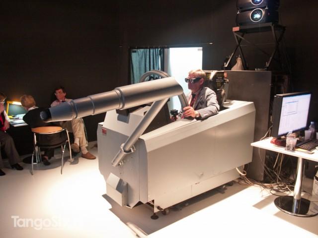 Real vision simulator