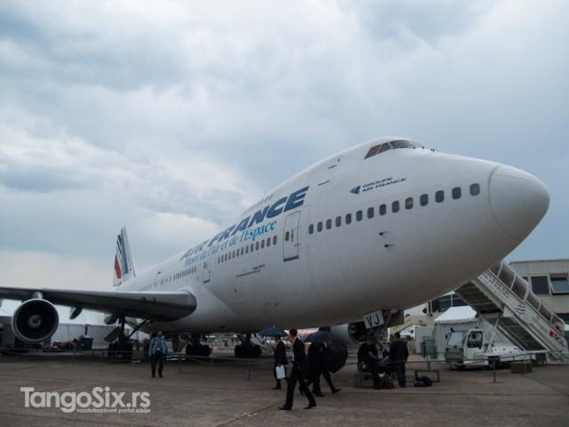Stalna postavka. Zaostavština francuske nacionalne avio-kompanije muzeju vazduhoplostva na aerodromu Le Burže