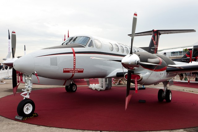 Super King Air 350ER, Foto: Boran Pivčić
