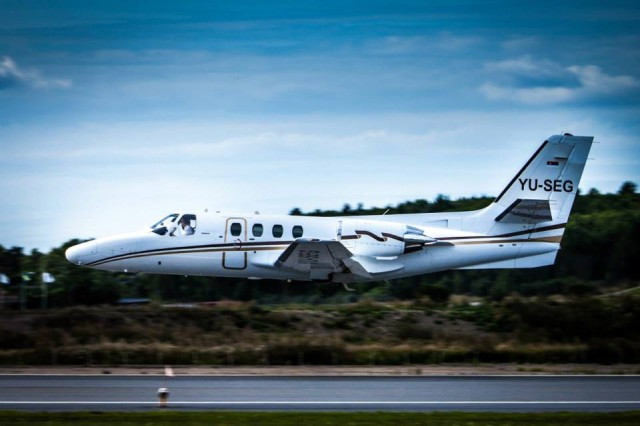 Brišući let nakon poslednjeg poletanja, FOTO: Prince Aviation
