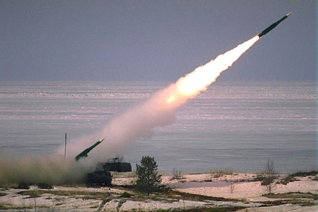 Ispaljivanje rakete 9M38M