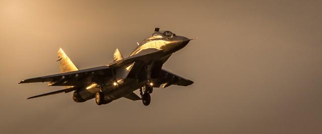 MiG-29UB fotografisan juče po završetku svog prvog leta. FOTO: Žarko Skoko