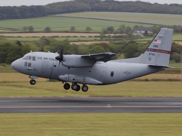 C-27J SPARTAN -USAF-JULY2011-Prestwick-1