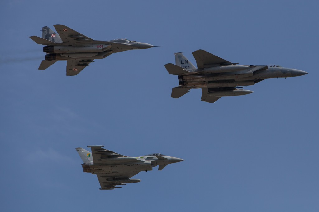 Allies enhance NATO air-policing duties in Baltic States, Poland, Romania
