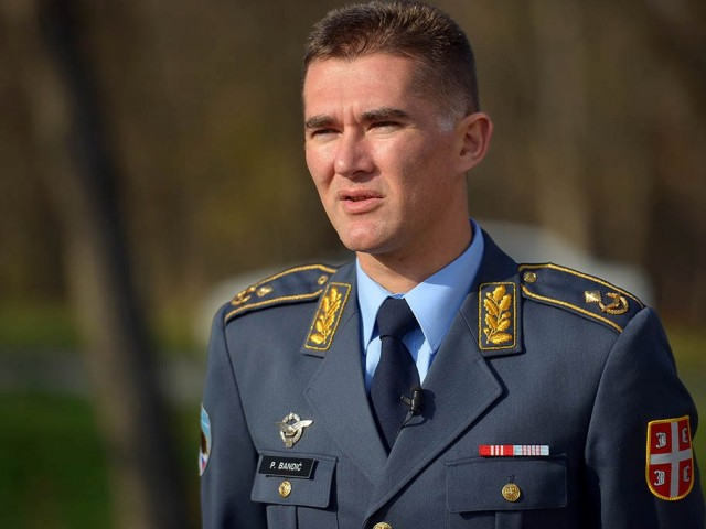 Brigadni general Predrag Bandić, komandant 204. vazduhoplovne brigade