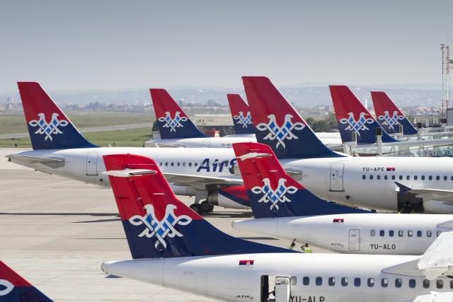 Air Serbia Fleet