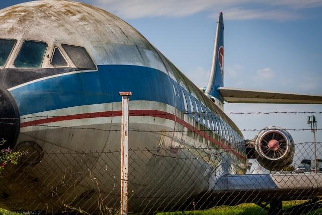 Karavela - deo postavke Muzeja vazduhoplovstva.