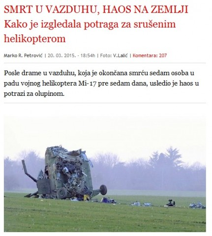 Pisanje dnevnog lista Blic.
