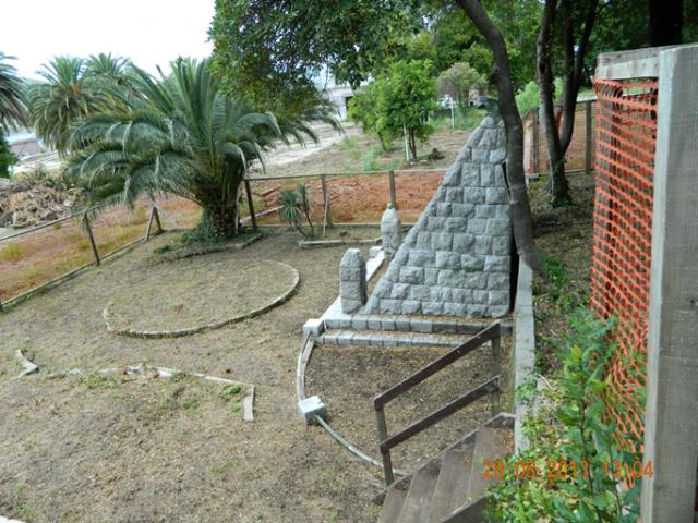 Izgled spomenika avgusta 2013. godine
