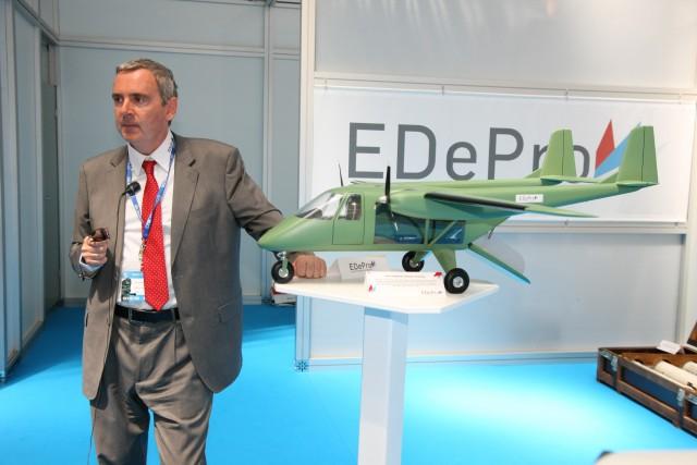 """""""EDEPRO"""" smatra da bi ovakva letelica mogla biti proizvedena u Srbiji. Foto: Dragan Trifunović"""