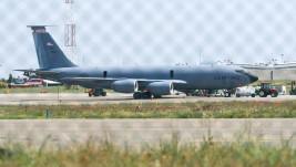 Leteći tanker USAF-a KC-135R jutros u Beogradu