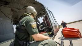 Vazdušna konjica Ministarstva unutrašnjih poslova – Vatrogasci iz helikoptera
