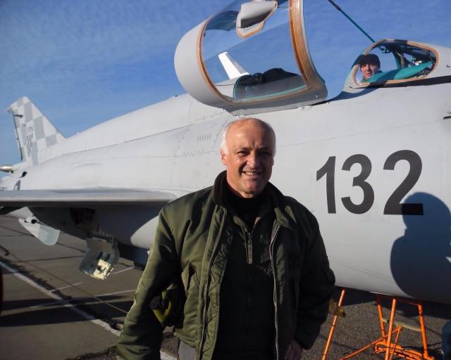 Ivan Selak danas je probni pilot Hrvatskoga ratnog zrakoplovstva
