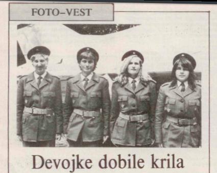 Prva generacija ženskih pilota RV SFRJ Zene-piloti-Copy