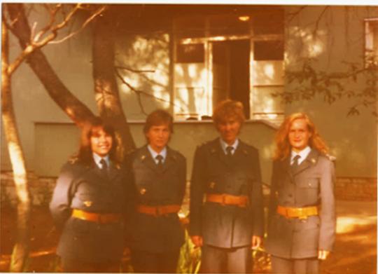 Prva generacija ženskih pilota RV SFRJ Zene4