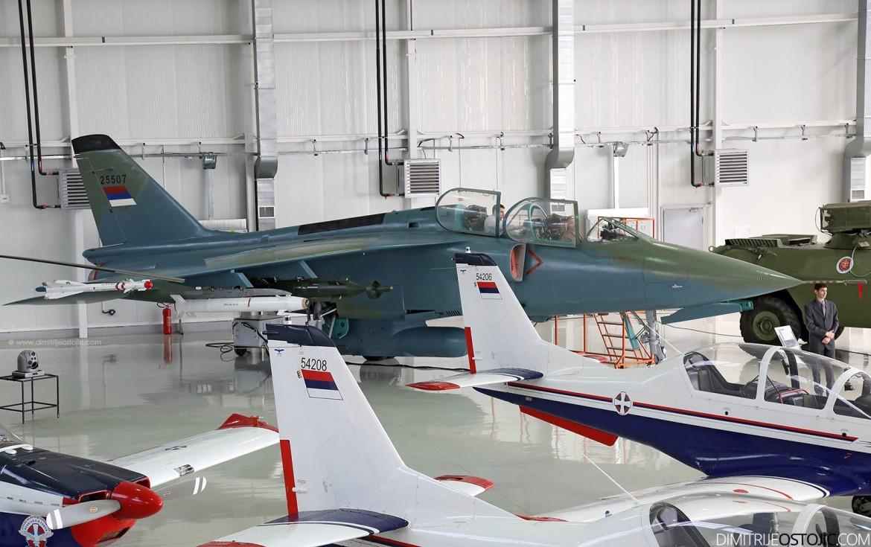 Pogled sa galerije novog hangara / Foto: Dimitrije Ostojić