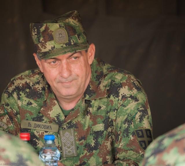I dalje smatra da je PVO podjednako bitna kao i lovačka avijacija, general Diković / Foto: Dragan Trifunović
