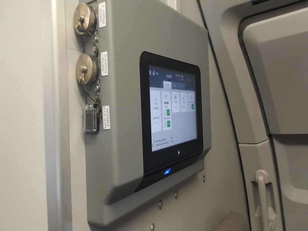Kontrolna jedinica sistema uz pomoć koje posada nadzire i upravlja sistemom / Foto: Petar Vojinović