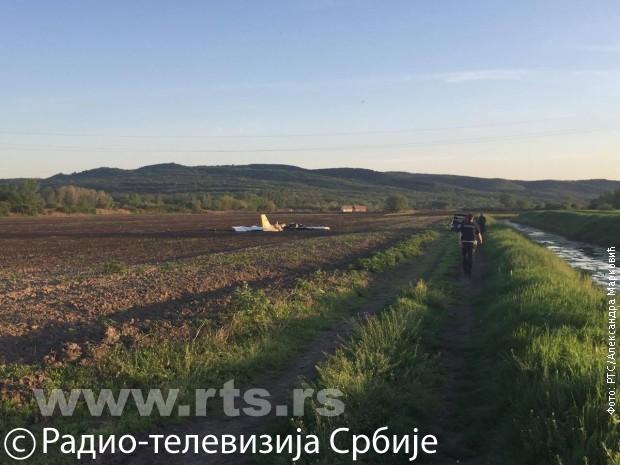 Širi plan lokacije udesa / Foto: RTS/Aleksandra Marković