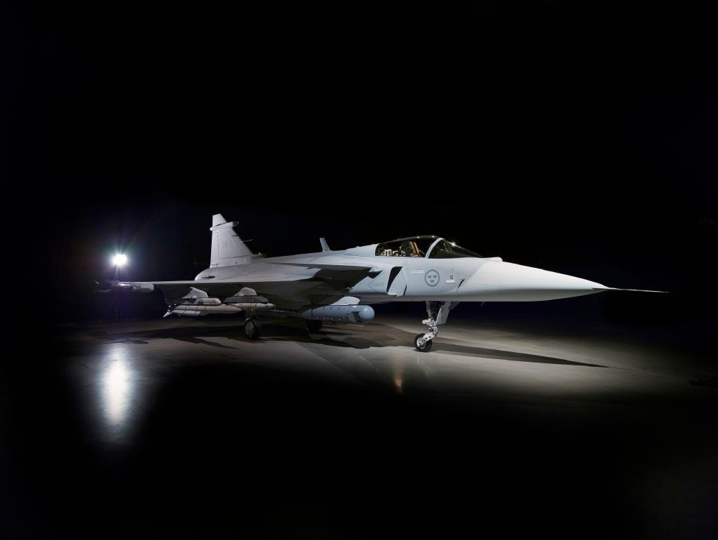 Saab+proudly+presenting+Gripen+E3