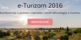 """NAJAVA: Konferencija """"e-Turizam"""" po treći put u Beogradu"""