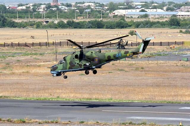 jermenski Mi-24P Hind-F 44 Yerevan