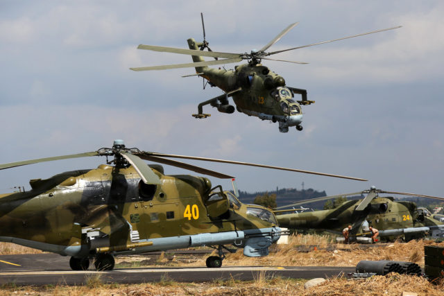Mi-24P 23, 24, 40