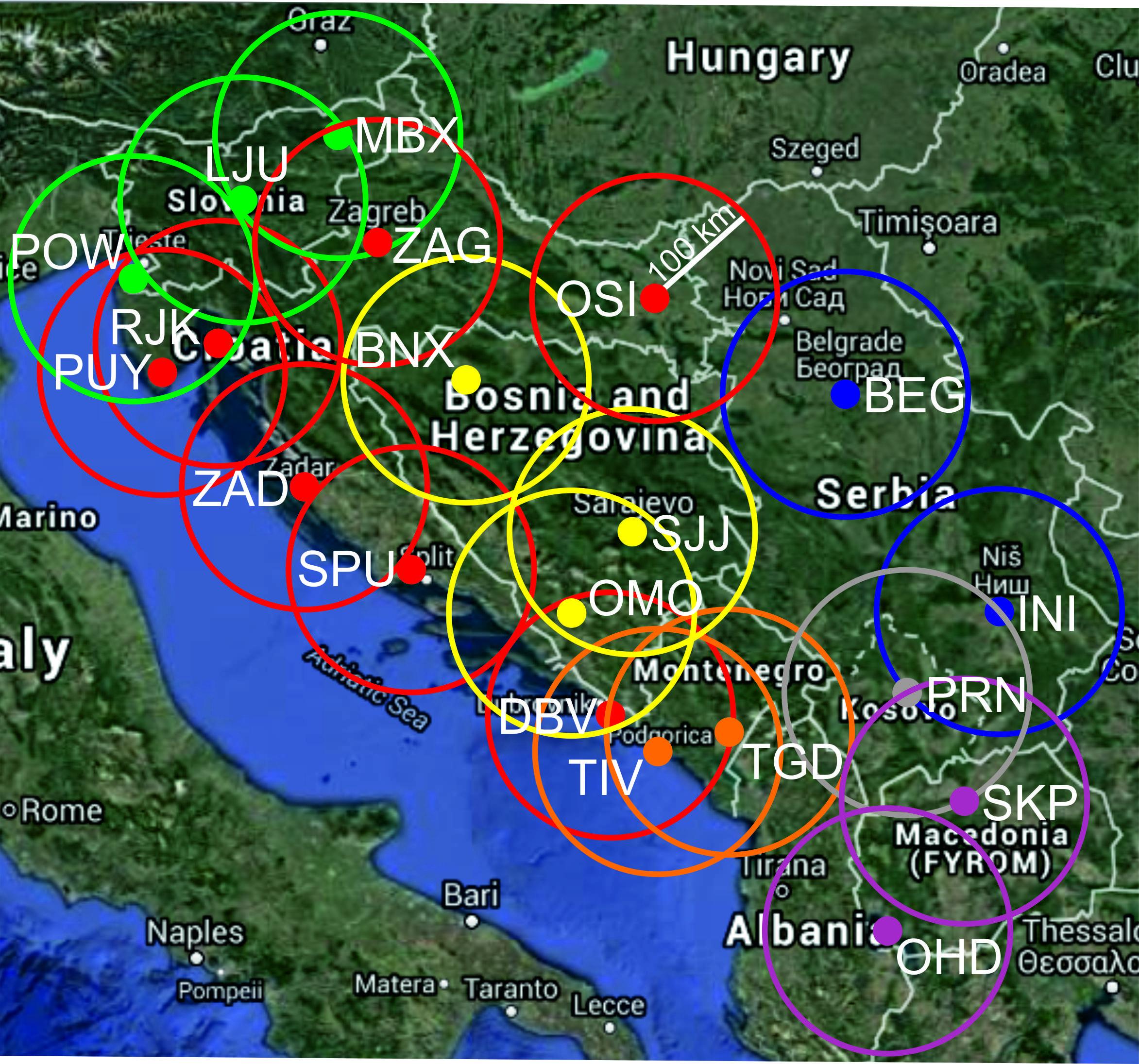 Regionalna šuma aerodorma