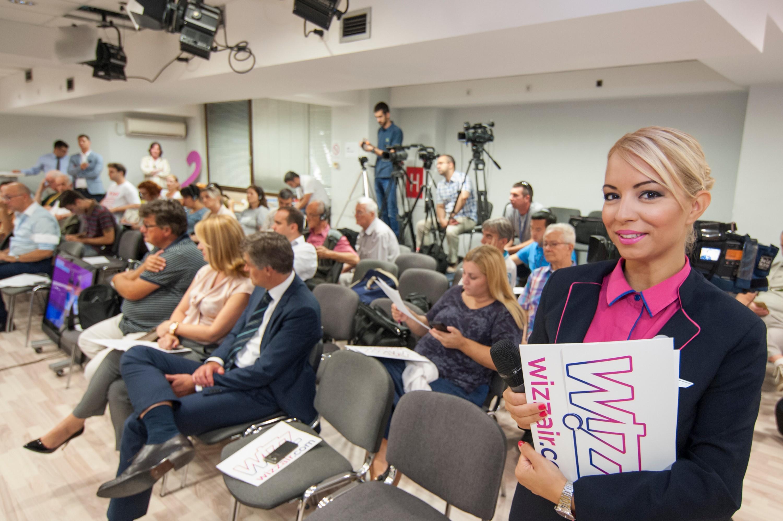 Posle dužeg vremena pred beogradskim medijima / Foto: Wizz Air