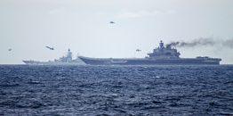 Rusija u istočni Mediteran poslala dodatnu grupu borbenih brodova na čelu sa nosačem aviona