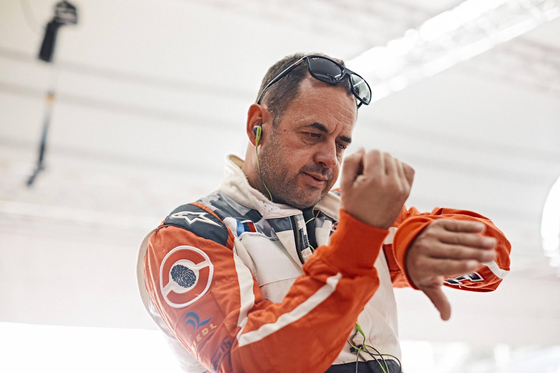 Peter Podlunšek se priprema za trku / Foto: Red Bull Air Race
