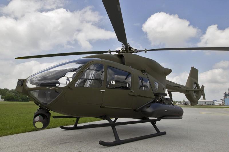 H145M sa naoružanjem i optoelektronskim sistemom / Foto: Airbus Helicopters