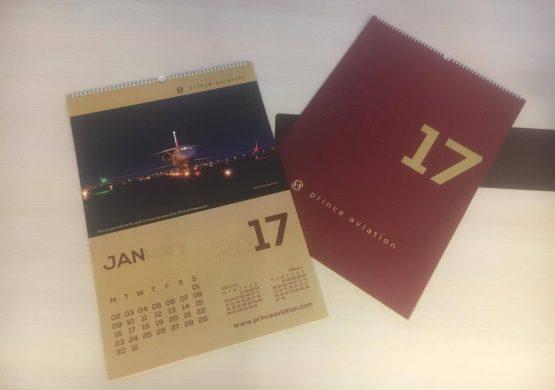 Delimo 5 kalendara kompanije Prince Aviation