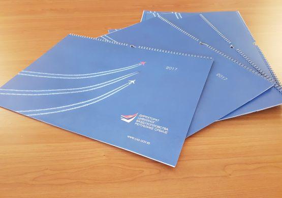 Delimo 10 kalendara Direktorata civilnog vazduhoplovstva