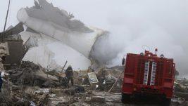 Srušio se kargo Boing 747 avio-kompanije ACT Airlines u Kirgiziji