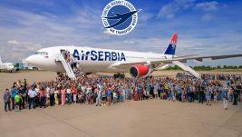 "Er Srbija dobitnik prestižne nagrade Air Transport Worlda u kategoriji ""Airline Market Leader"""