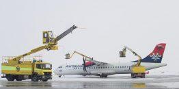 [VIDEO REPORTAŽA] Kako izgleda de-icing Erbasa A319 i ATR-a 72