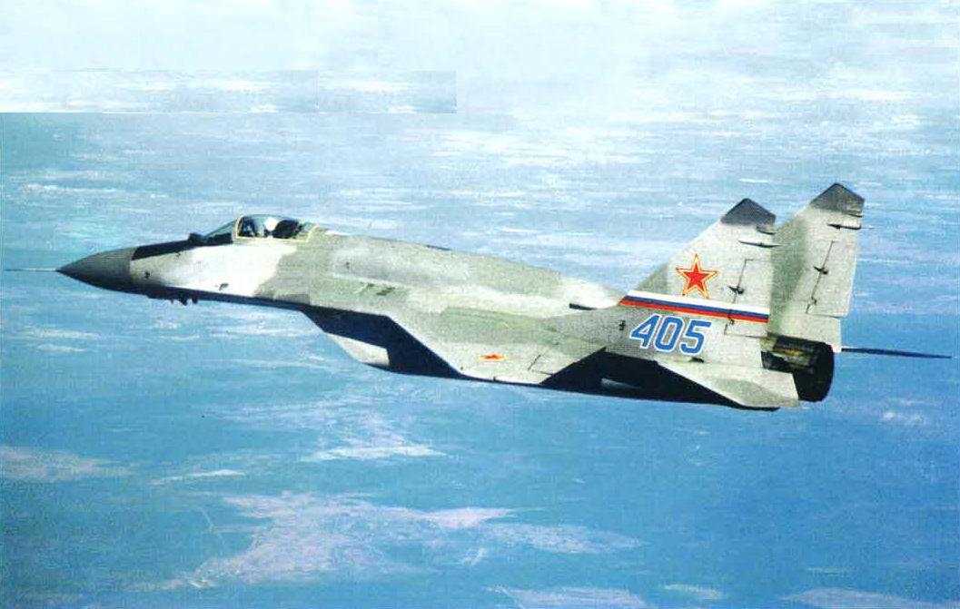 ruski MiG-29SMT 405 u letu